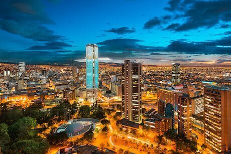 Hoteles cerca a Bogotá